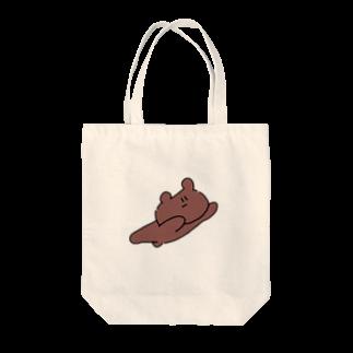 kagami102の飛ぶクマ Tote bags