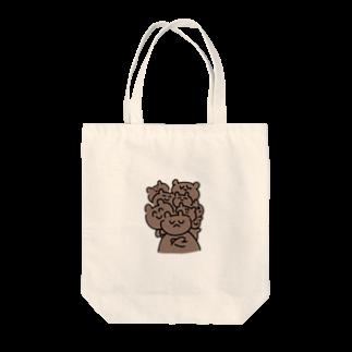 kagami102のKUMAたち Tote bags