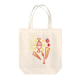 お花#Red#yellow Tote bags