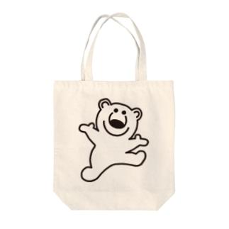 むじゃきのシロクマ Tote bags