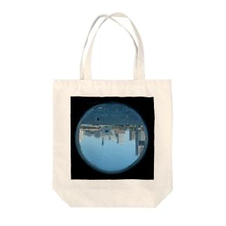 さかさまのまる窓 Tote bags