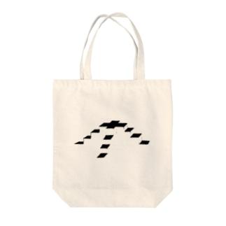 幾何学的な階段 Tote bags