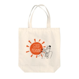 Seto HiroakiのGOOD MORNING Tote bags