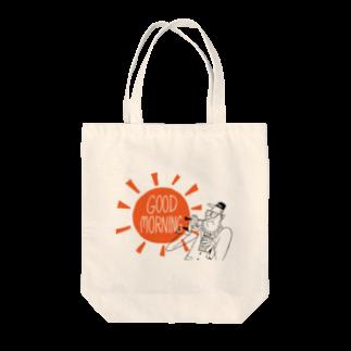 Seto HiroakiのGOOD MORNING Tote bags