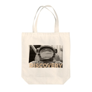 Discovery Tote bags