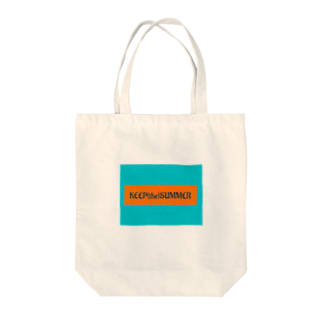 KEEP(the)SUMMERのK(t)S Tote bags