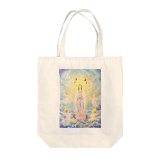 マリア様と天使たち Tote bags