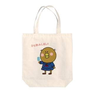 ピヨヨバック Tote bags