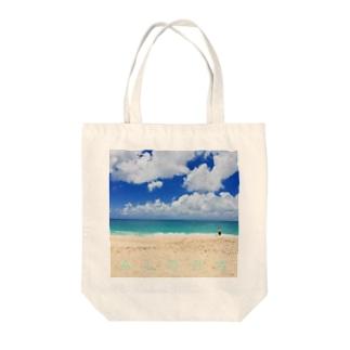 FEEL ALOHA Tote bags