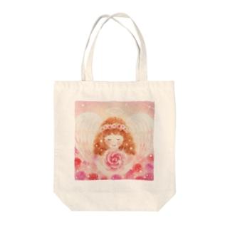 女神の様な天使 Tote bags
