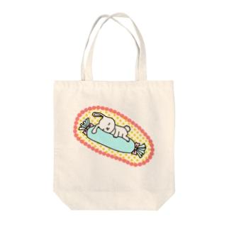 すやすやちゅう。 Tote bags