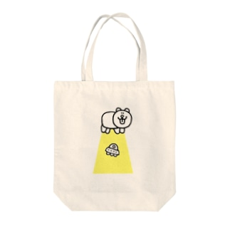 キャトルミューティレーション Tote bags