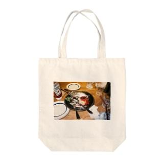パンケーキ Tote bags