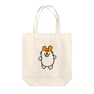 笑顔で性癖を語るハムスター Tote bags