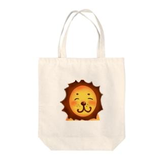 やさしいライオン Tote bags