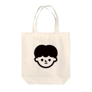 ミカエル Tote bags