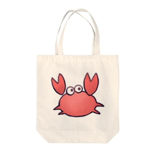 かにさん Tote bags