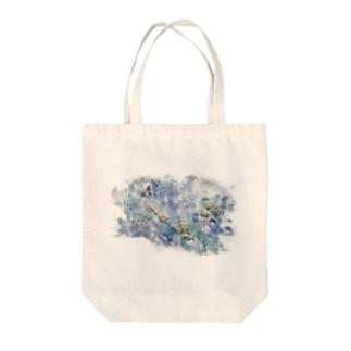 dry flower Tote bags