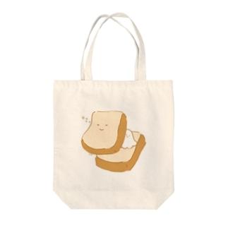 おねむサンド Tote bags