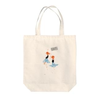 ダンス Tote bags