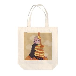 🥞ホットケーキ🥞トートバッグ Tote bags
