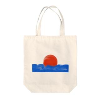 スーパーボール Tote bags