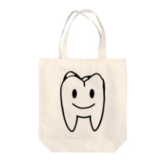 大臼歯くん Tote bags