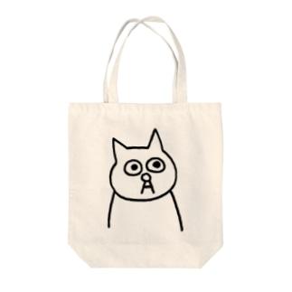 猫の小林さん Tote bags