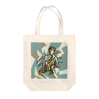Not for youの人混み中の孤独 Tote bags