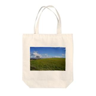 美瑛の贈り物 Tote bags