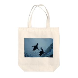 ペンギンたち Tote bags
