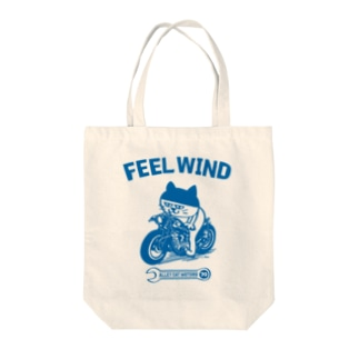 FEEL WIND 〜ドラ猫モータース〜 1 (b) Tote bags