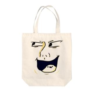 ばたーくん Tote bags