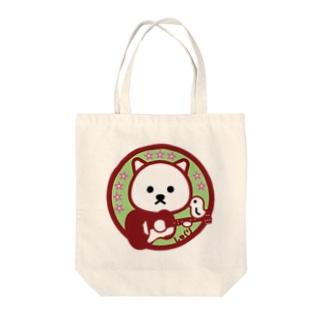 パ紋No.3331 しゅくり Tote bags