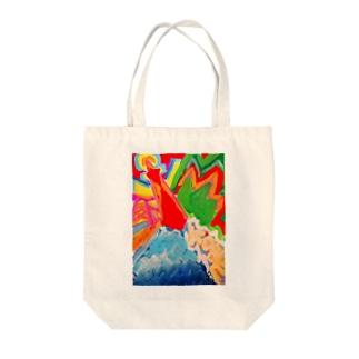 ユニコーンアートKOBE Tote bags