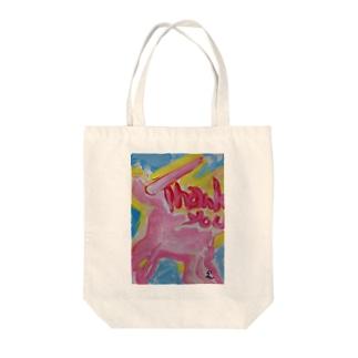 ユニコーンアートthank-you Tote bags