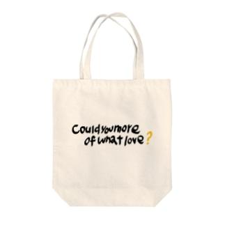 手書きしたすきな言葉💘 Tote bags