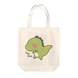 ティラのすけ Tote bags