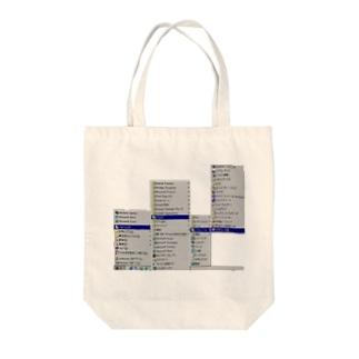窓98 Tote bags