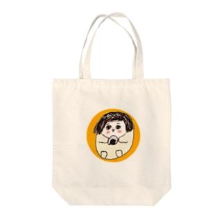 hoisa-hoisaのたまわらし Tote bags