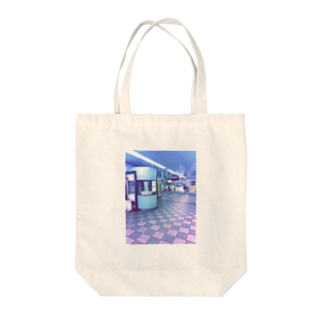 地下鉄 Tote bags