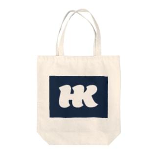 HKブランケット06 Tote bags