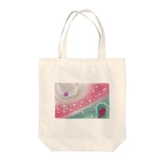 ─輪廻の中で─ Tote bags