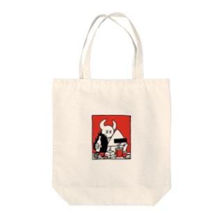 ファストフード Tote bags