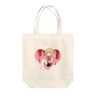 ほんのりメンヘラ女の子 Tote bags