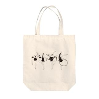 ゼンブトクイ Tote bags