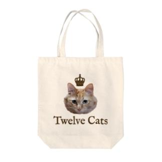百獣の王 Tote bags