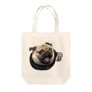 修道士 パグのパグ―グッズ Tote bags