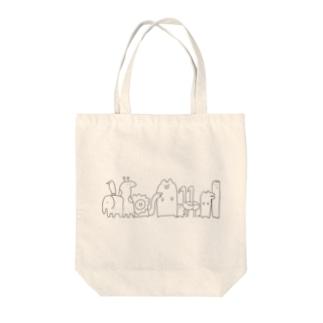 動物たち(明るい色推薦) Tote bags