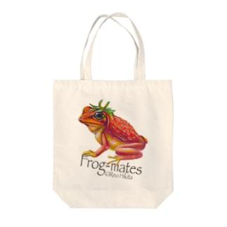カエルメイト(Frog-mates)より「イチゴガエル」 Tote bags